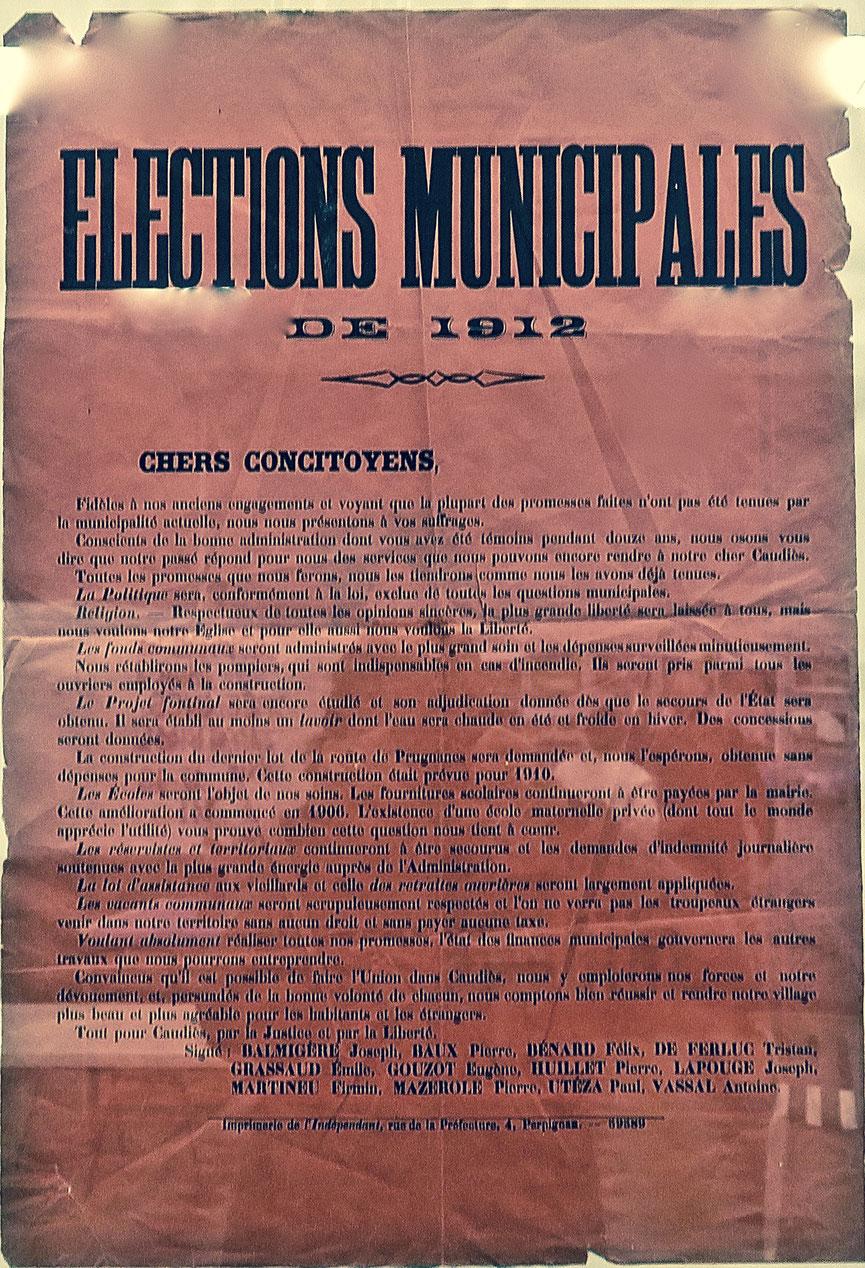 Élections 1912