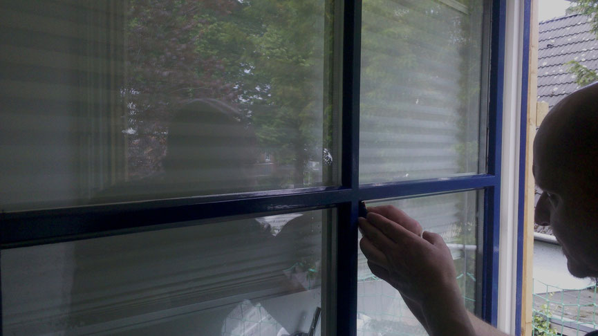 Fenster Fugen