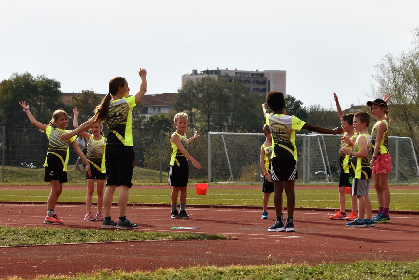 Freiburger Kinderleichtathletik-Cup am 12. Januar 2019