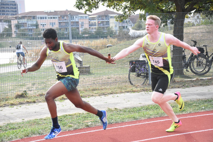 4x100m-Staffel - die Königsdisziplin im Sprint