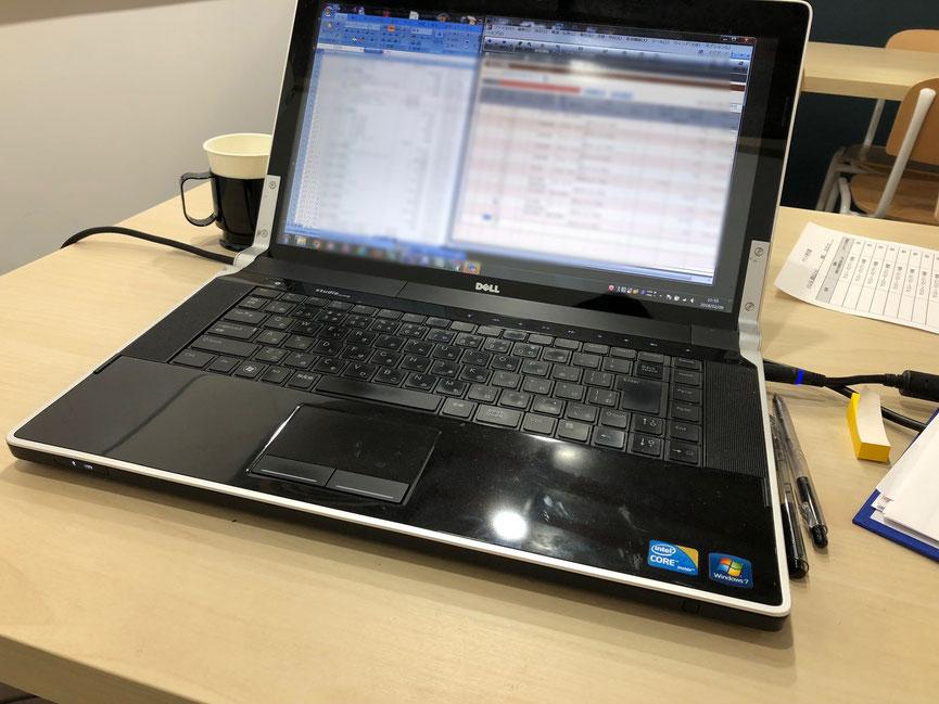 弥生会計が入っているWindowsパソコンで経理JELLY