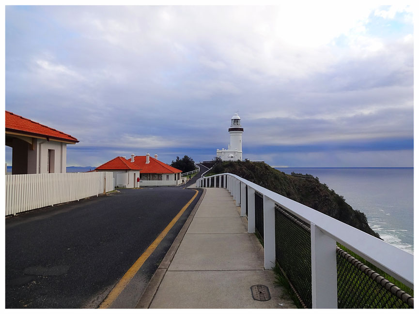 Byron Bay Lighthouse - The first landmark in Fay's long journey to recovery (picture courtesy of Fay Keegan)