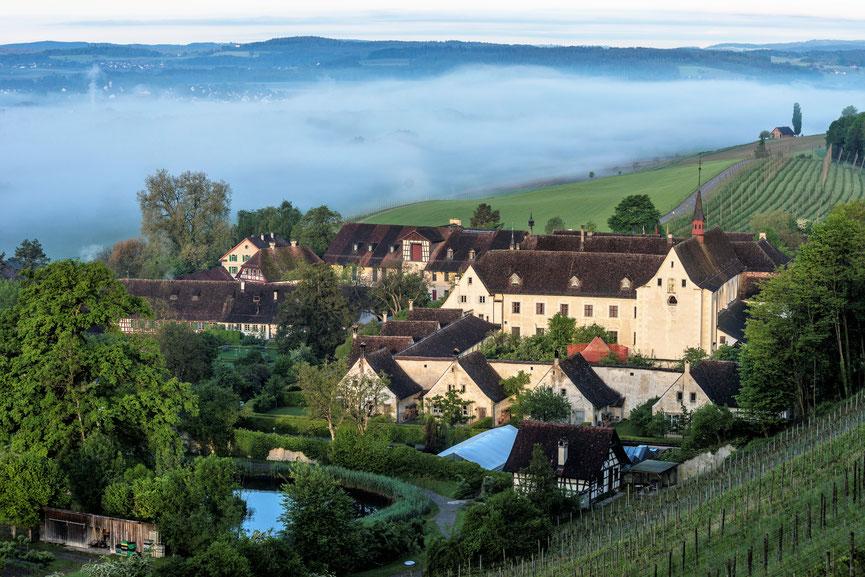 Die Kartause Ittingen, ehemaliges Klostergelände, heute auch ein Ausflugsziel für Familien.