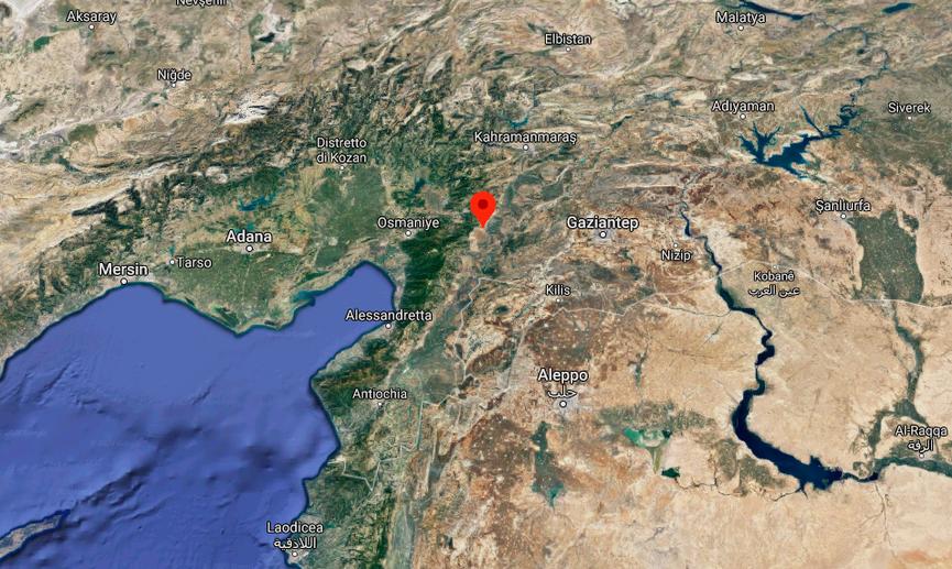 Zincirli Höyük, provincia di Gaziantep - Turchia