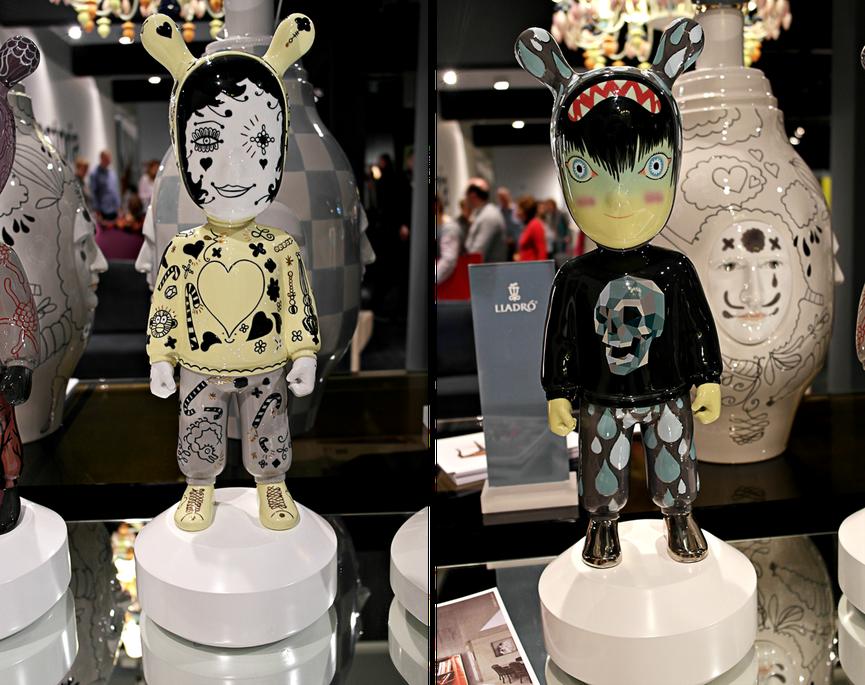 Interior Ideen der IMM Cologne 2014 mit tollen Einrichtungs,- und Dekotrends wie die Figuren von Lladró in stylishem Design | Hot Port Life & Style | Deutscher Lifestyle Blog