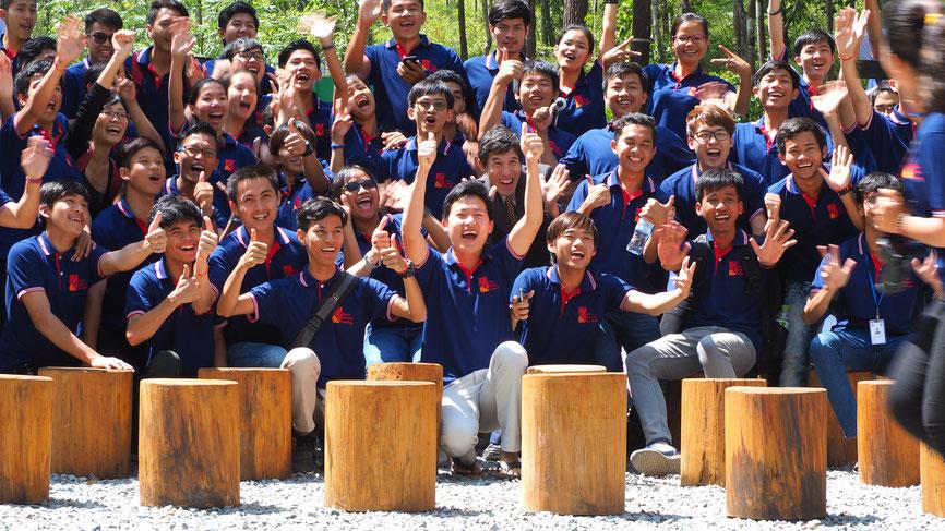 学生の集合写真