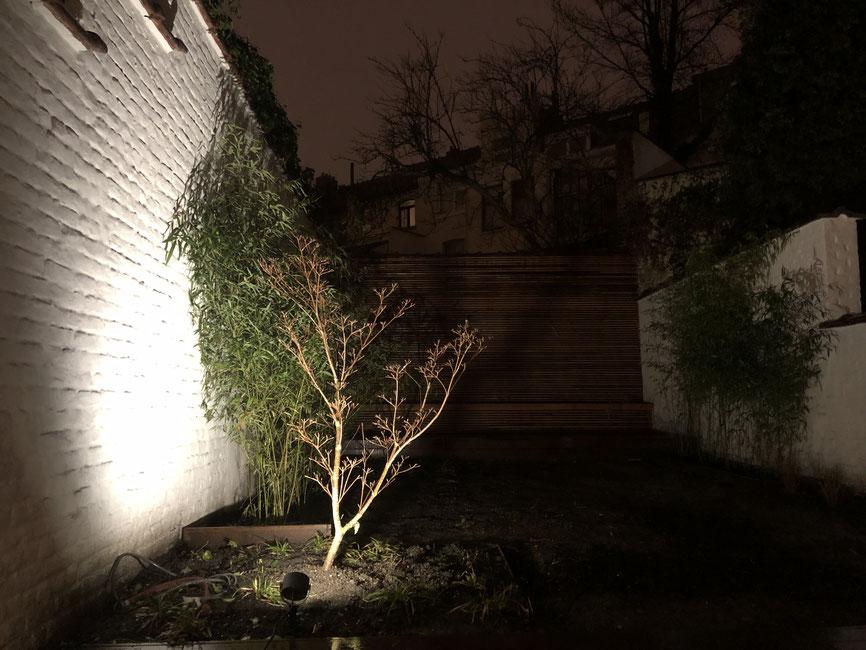 Comment éclairer son jardin - Marguerite Ferry - Urban Garden Designer - Blog Jardin Belgique