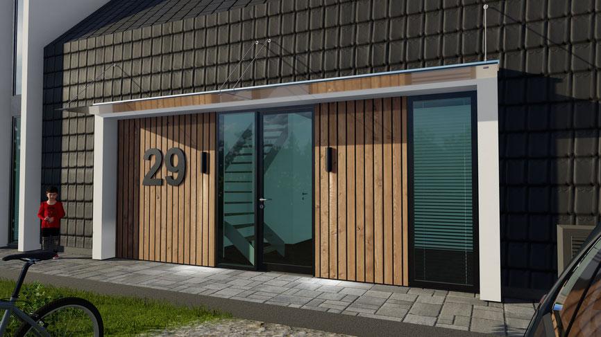 Dak met lichtkoepel vrijstaande woning Zevenhuizen