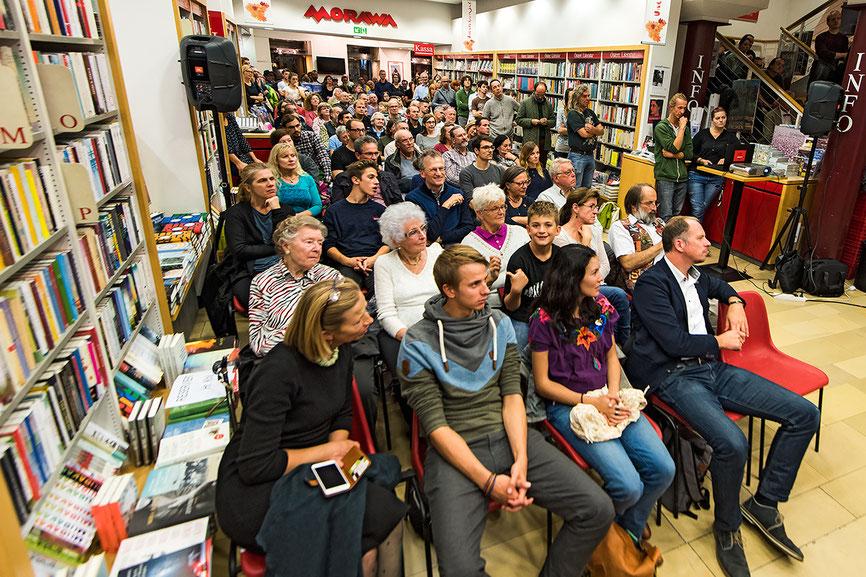 Präsentation am 5. Oktober in der Buchhandlung Morawa, Wien