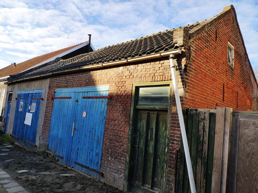 Bestaande situatie nieuwbouw huis Colijnsplaat