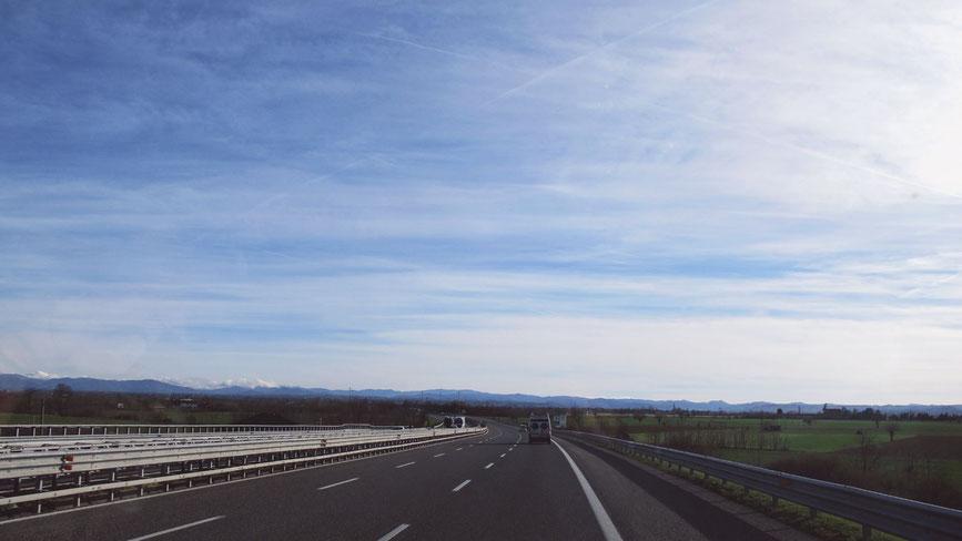 bigousteppes autoroute italie genes