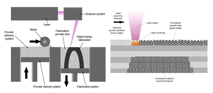 Selektives Laser Sintern (SLS)
