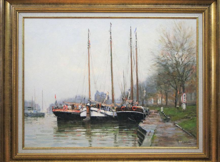 te_koop_aangeboden_een_schilderij_van_de_nederlandse_kunstschilder_frits_johan_goosen_1943