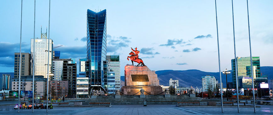 Capital city of Mongolia, Ulaanbaatar