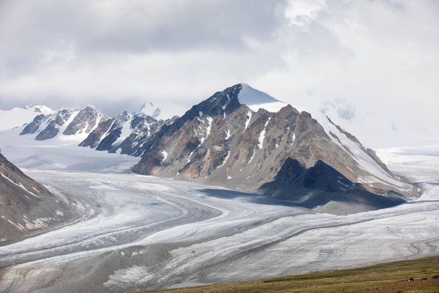 Tavan Bogd Mountains, Potanine Glacier