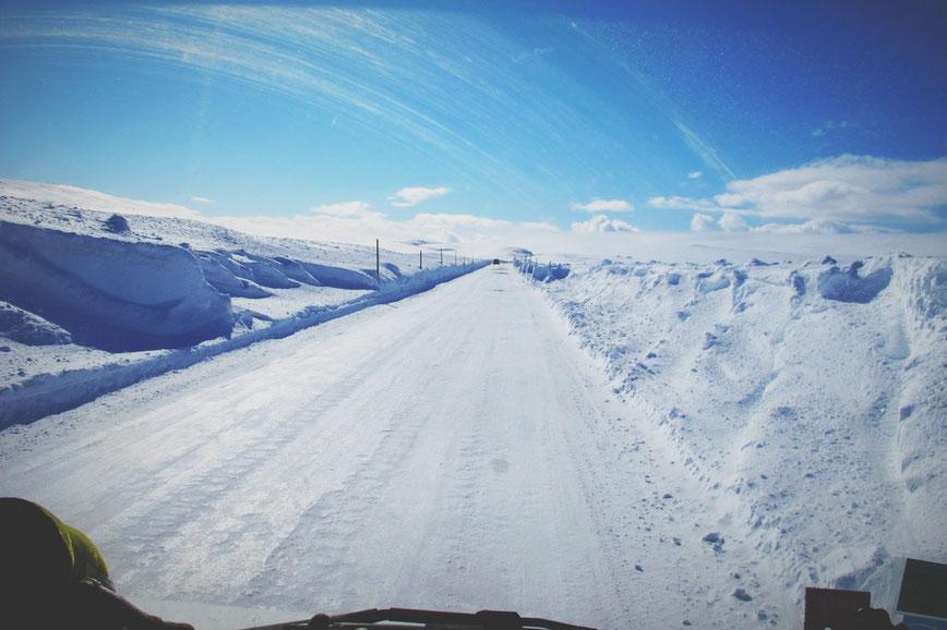 bigousteppes norvege glace route neige