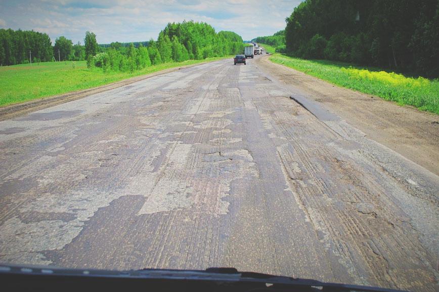 bigousteppes russie route sibérie camion