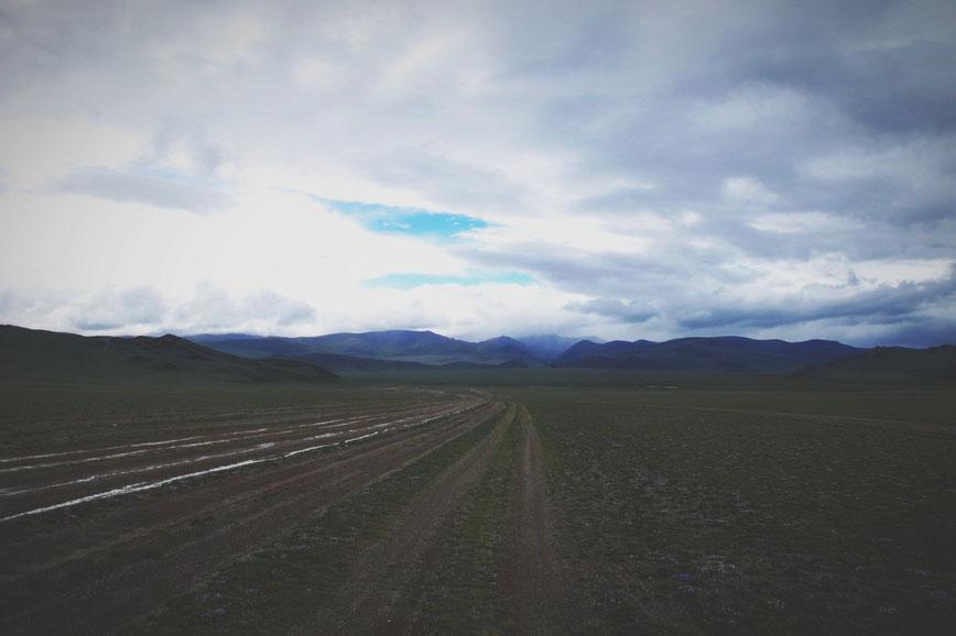 bigousteppes mongolie route boue