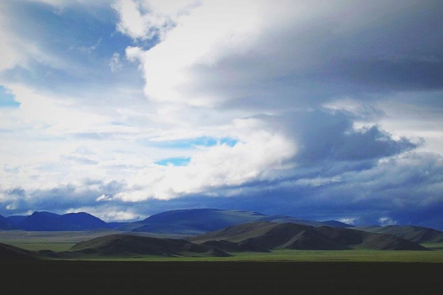 bigousteppes mongolie steppes route piste camion