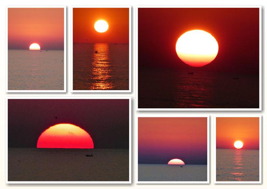 Sonnenuntergang an der Algarve ( Fotos: © Travelmaus.de)