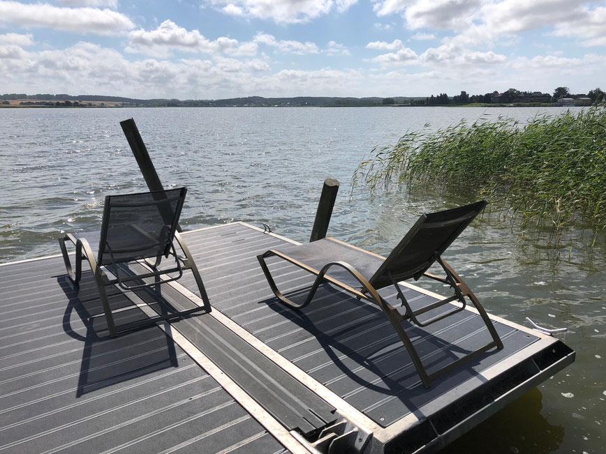 Residenz am Balmer See, Haus B mit Appartement 45, Ferienwohnung GolfundMeer, Steg am Balmer See, Photo © Peter Schmidt