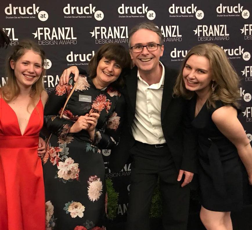 Sibylle Exel-Rauth gewinnt den 1.Platz beim Franzl Design Award