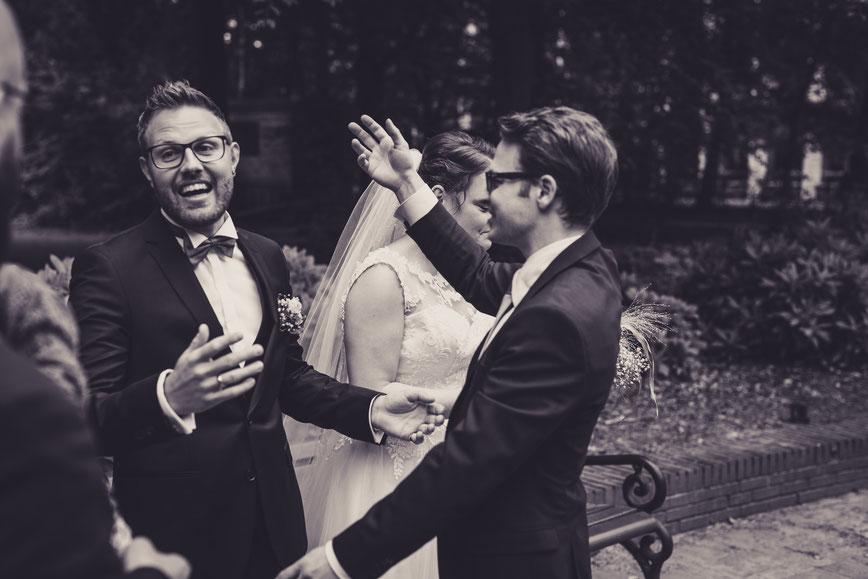 Reportagebegleitung, Hochzeit, Wedding, Gute Freunde, Love, Lübeck, Hamburg