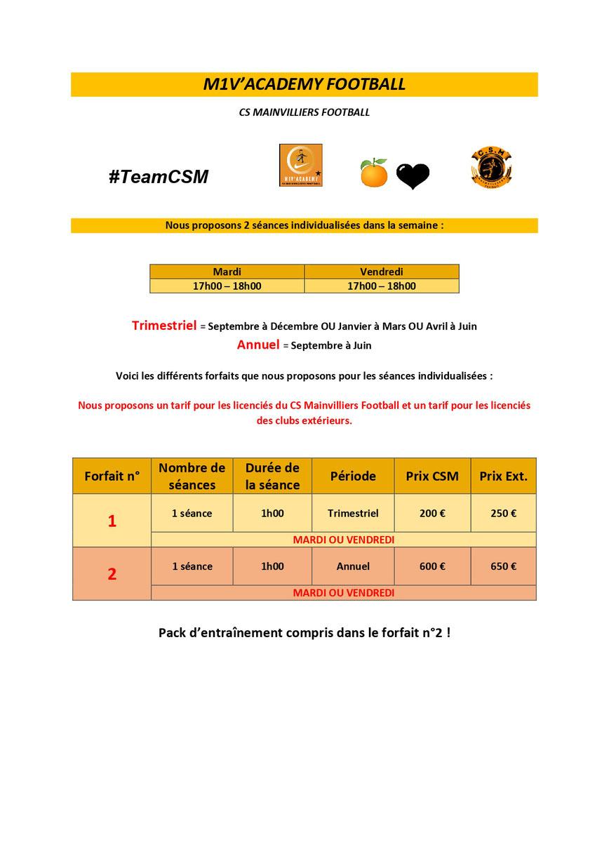CS Mainvilliers Football M1V'ACADEMY