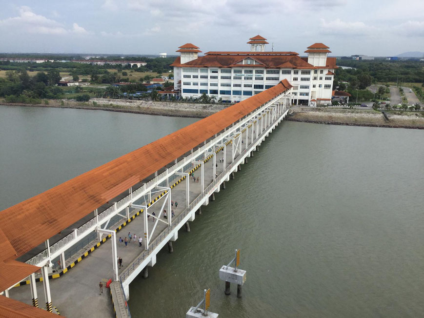 Terminal in Port Klang