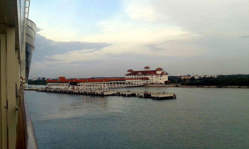 Kreuzfahrthafen in Port Klang