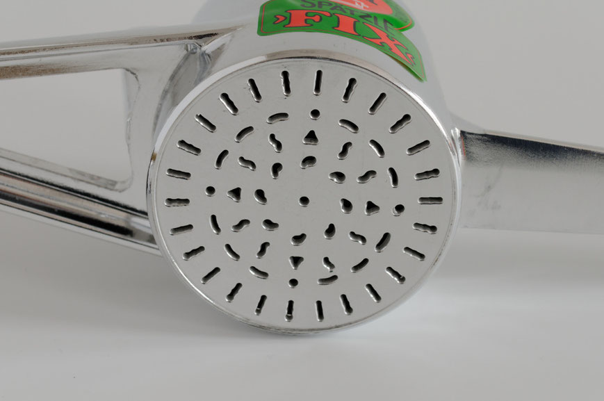 Spätzle-Fix mit unregelmäßigem Loch