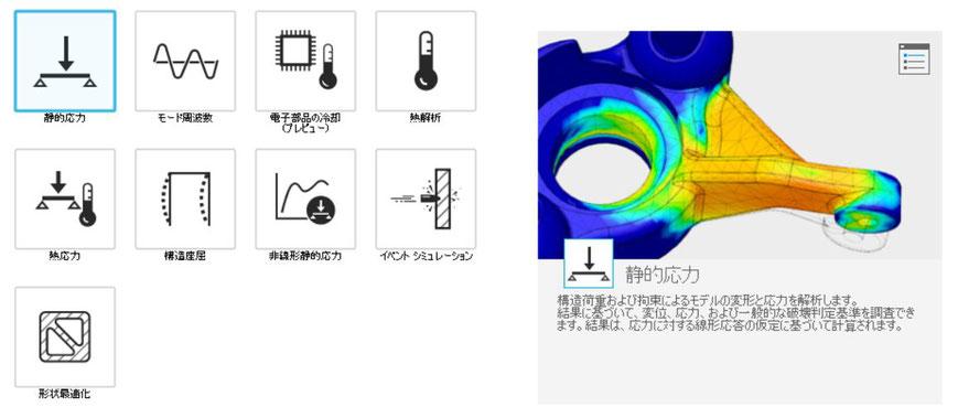 Fusion360 解析 静的応力
