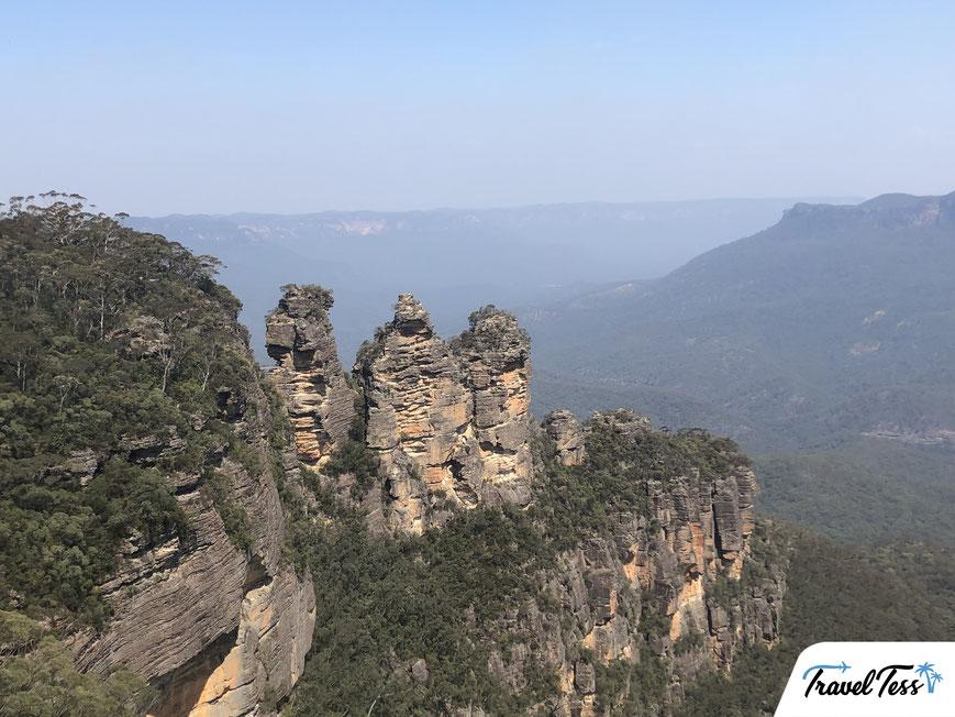 Three Sisters uitzichtpunt Blue Mountains