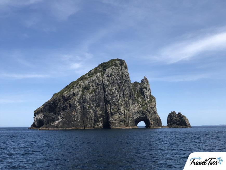 Hole in the Rock in de Bay of Islands