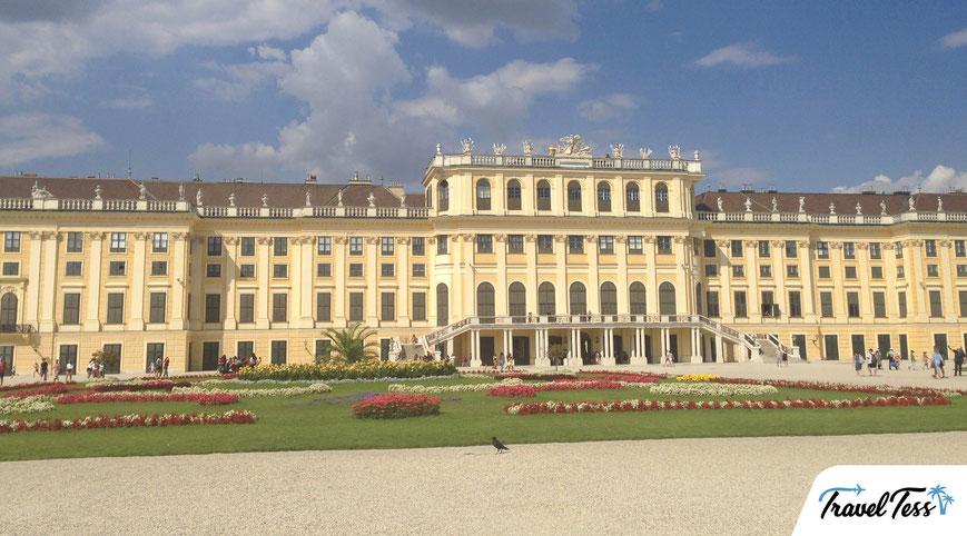 Schonbrunn Paleis in Wenen