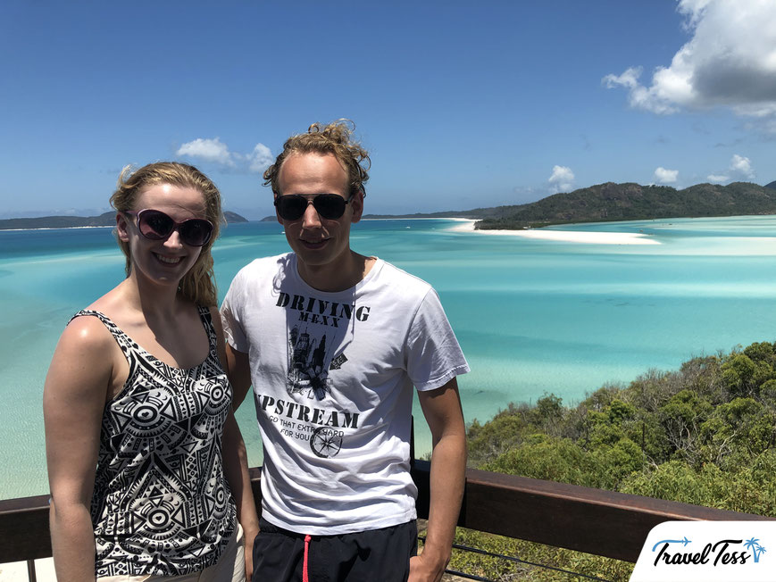 Whitehaven Beach Lookout