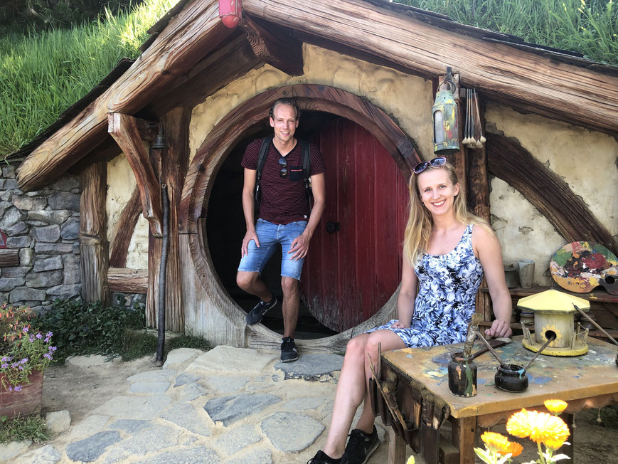 Hobbiton bilbo house