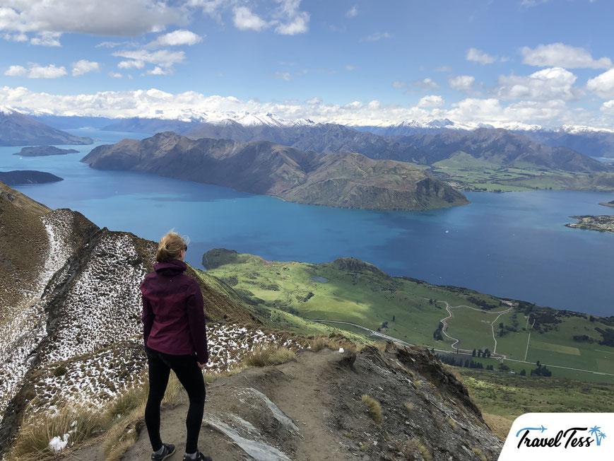 Uitkijkpunt Roys Peak bij Lake Wanaka