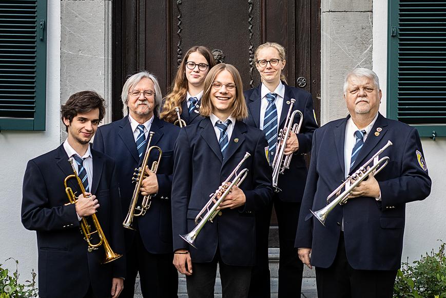 Städtischer Musikverein Erkelenz Trompeten Mai 2019