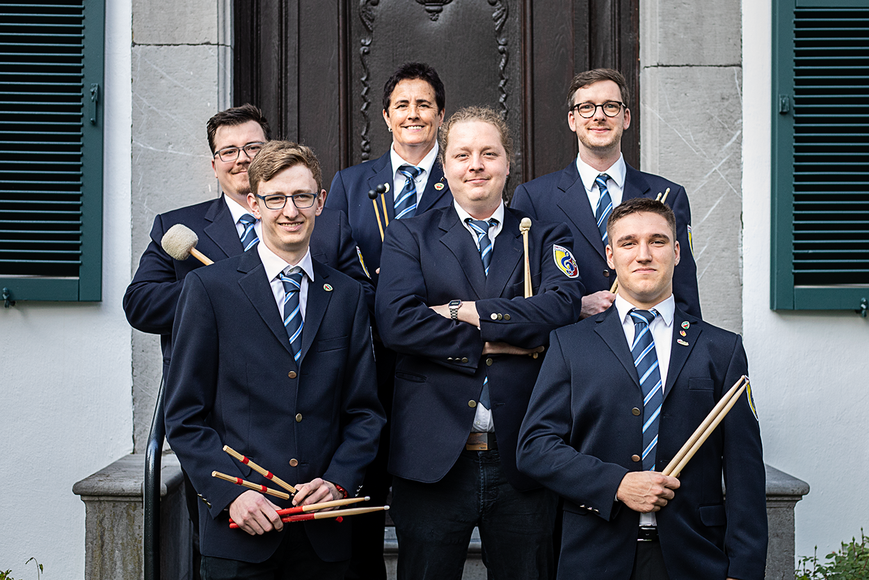 Städtischer Musikverein Erkelenz Schlagzeuger Mai 2019