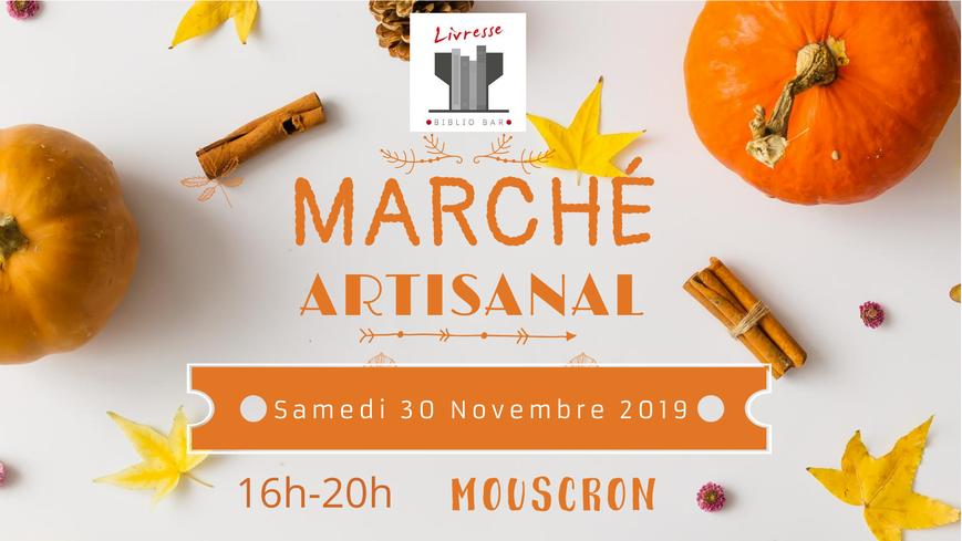 Marché artisanal et local à Livresse Mouscron
