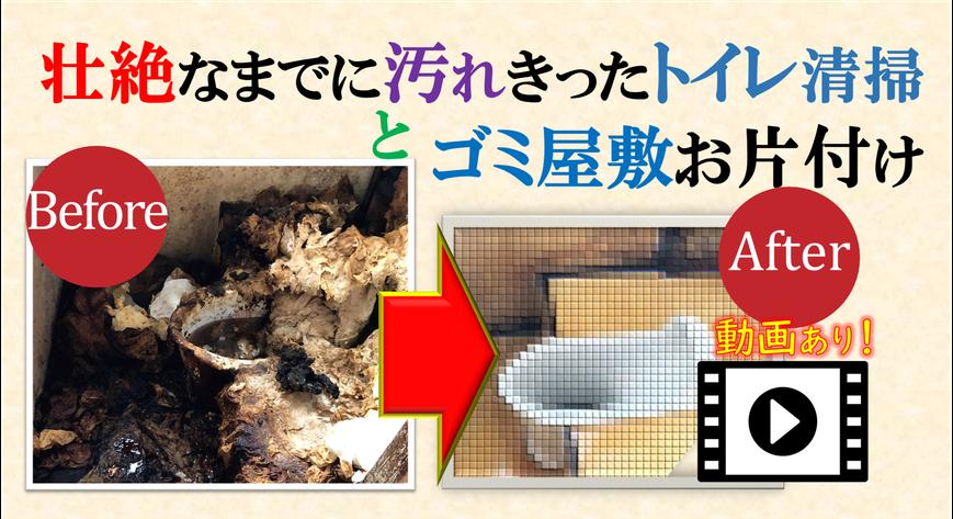 汚トイレの掃除|ウンチ|大便|うんこ|超汚れた|超絶汚い|