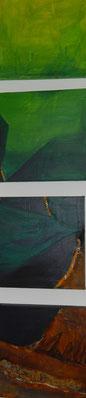 Erdklang ,Acryl,4 x 40x40 cm 2010