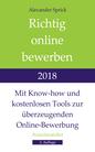 Alexander Sprick: Richtig online bewerben 2018