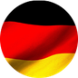 """Grafik: Deutschlandflagge/ Link zurm BLOG """"Unsere Projekte in Deutschland"""" der gemeinnützigen Stiftung Hof Schlüter, Lüneburg"""