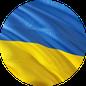 """Grafik: Ukraineflagge/ Link zurm BLOG """"Unsere Projekte in der Ukraine"""" der gemeinnützigen Stiftung Hof Schlüter, Lüneburg"""