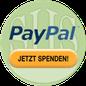 Grafik: Jetzt Spenden via PayPal an die gemeinnützige Stiftung Hof Schlüter, Lüneburg für humanitäres Engagement / Hilfsprojekte in Deutschland u. der Ukraine