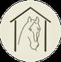 Logotype de Pensions Chevaux — Annuaire Internet de pensions pour chevaux.