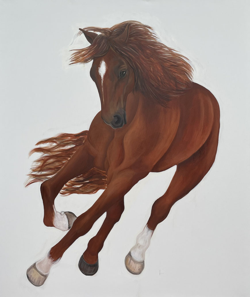 Luigi, Oil on Canvas, 200 x 170 cm, 2021.
