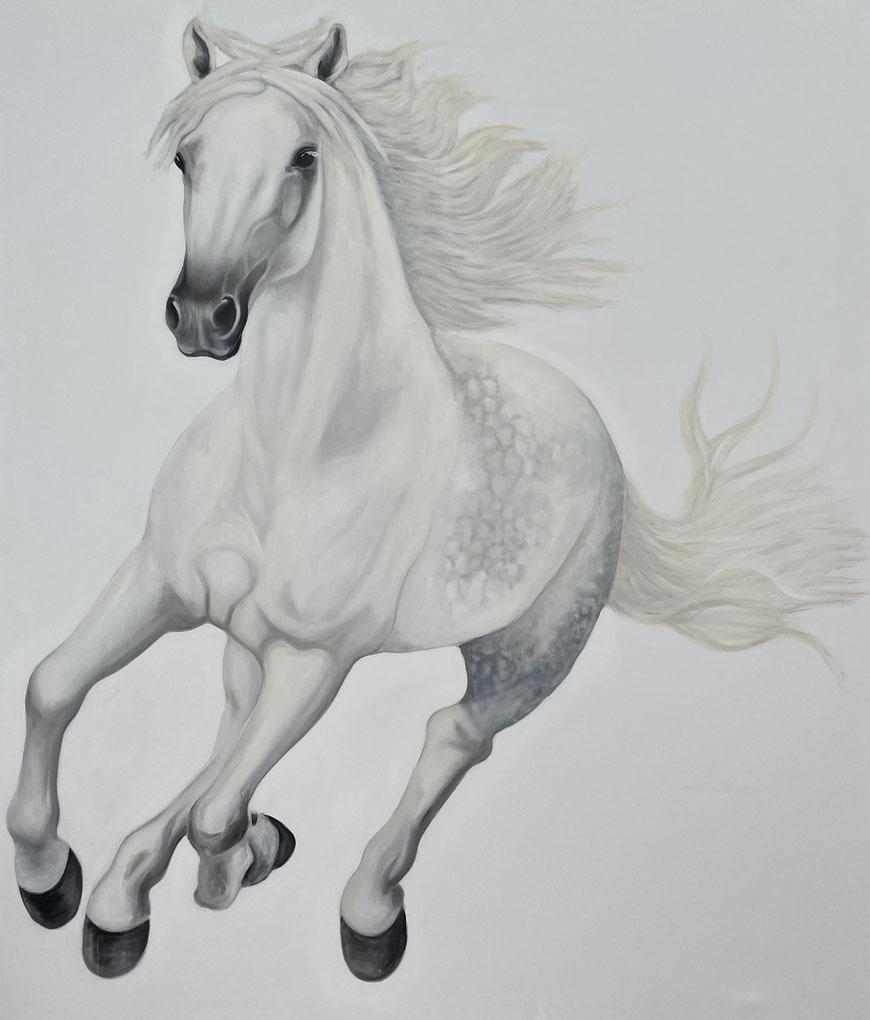Maximus, Oil on Canvas, 200 x 170 cm, 2021.